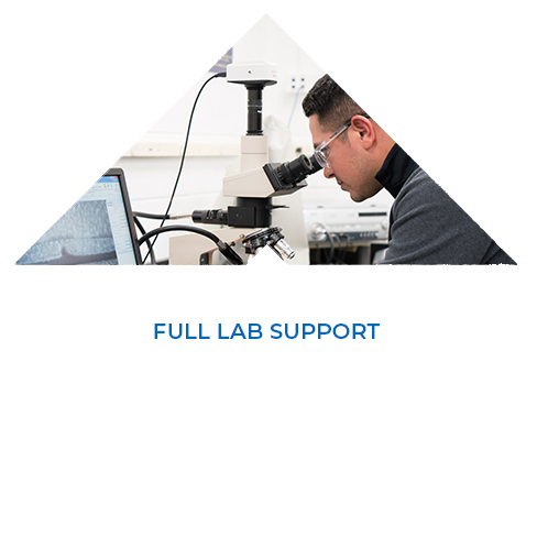 FULL LAB SUPPORT